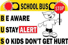 Be Aware, U Stay Alert, So kids don't get hurt!