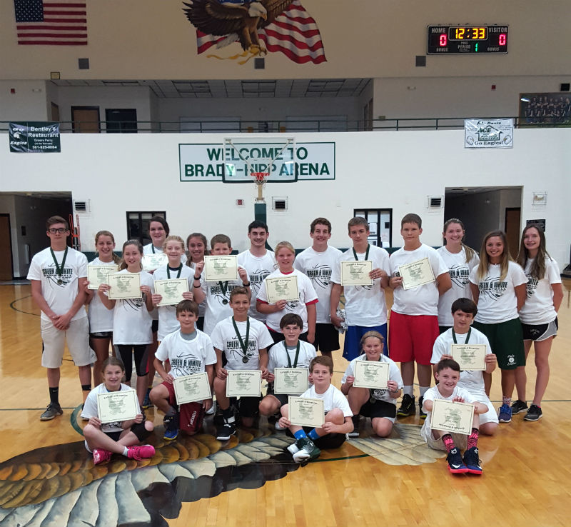 Grade 7-9 Green & White Campers