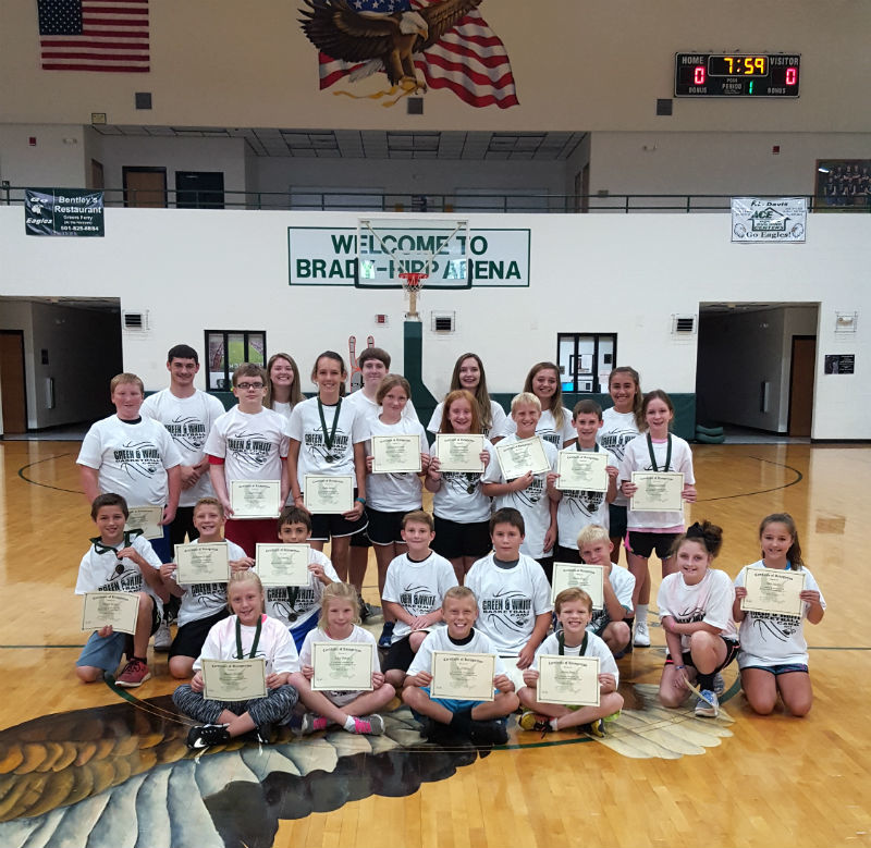 Grade 4-6 Green & White Campers