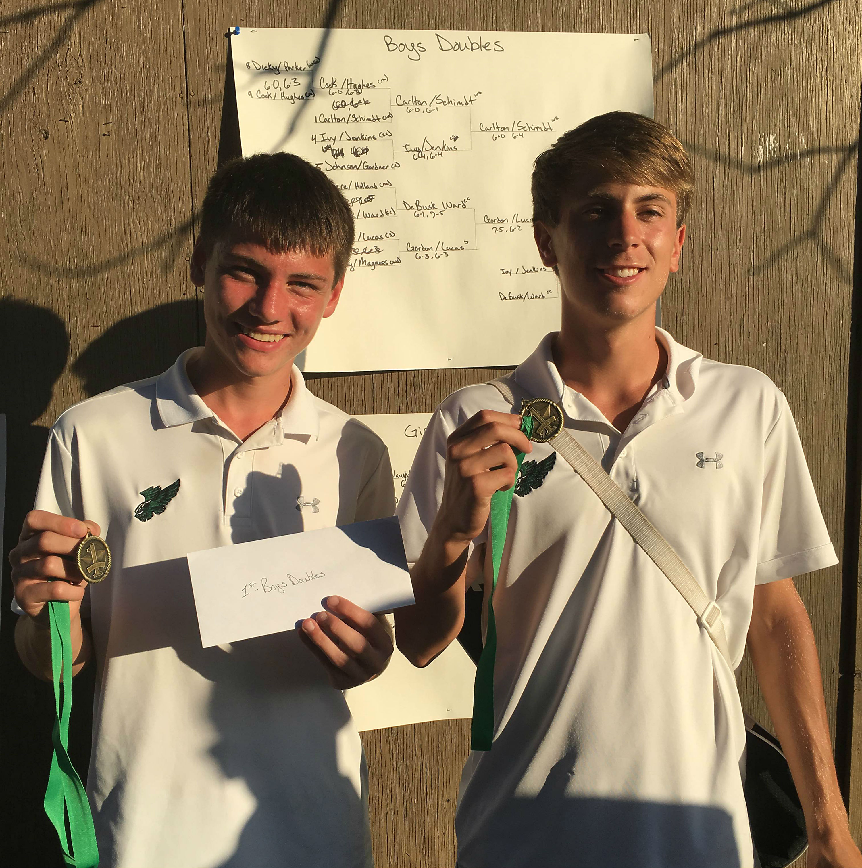 Boys, Girls Tennis Doubles Qualify for State