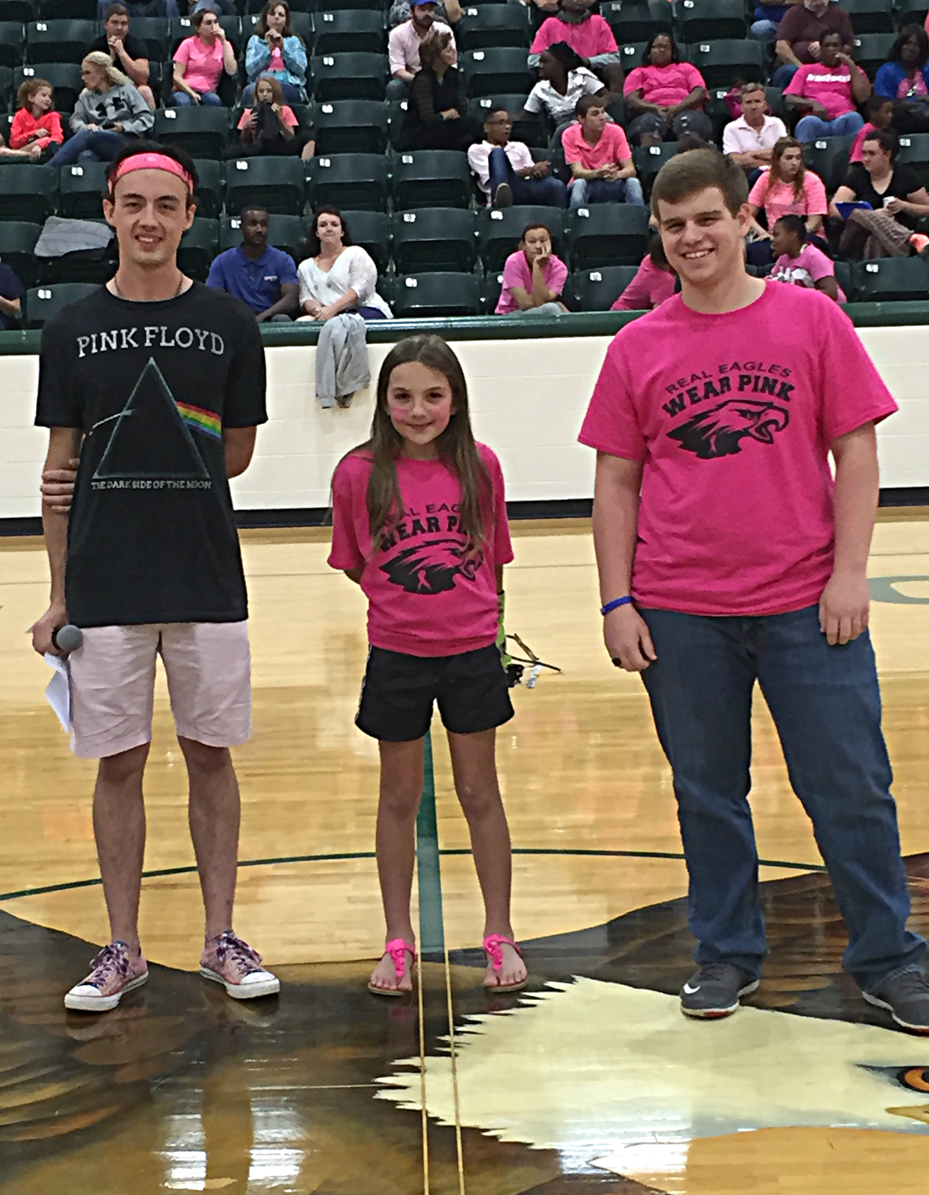 PinkOut Held at Tuesday's Game